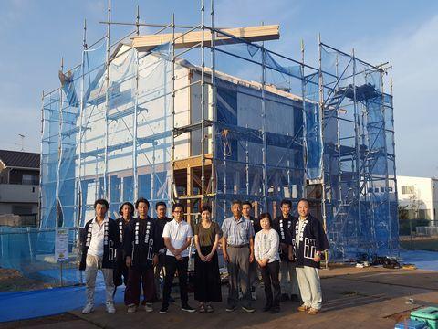 木造ドミノ住宅が上棟しました。_a0059217_10084060.jpg