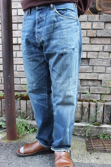 "ANACHRONORM ""WASHES DENIM WIDE JEANS\"" NM-5P01-W1 ご紹介_f0191324_09013701.jpg"