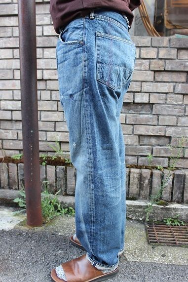 "ANACHRONORM ""WASHES DENIM WIDE JEANS\"" NM-5P01-W1 ご紹介_f0191324_09014524.jpg"