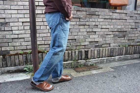 "ANACHRONORM ""WASHES DENIM WIDE JEANS\"" NM-5P01-W1 ご紹介_f0191324_09020199.jpg"