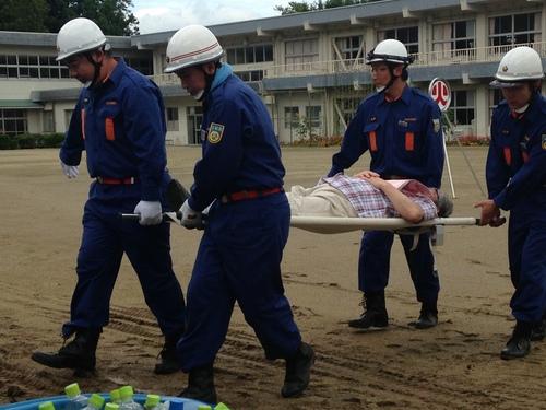 『日和田地区防災訓練』_f0259324_16303842.jpg