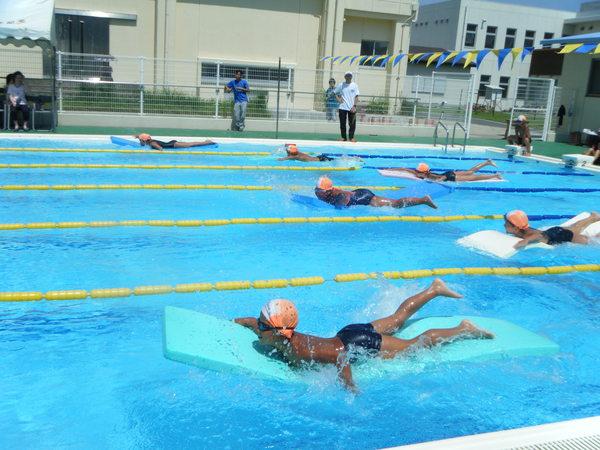 校内水泳記録会_a0131631_11454667.jpg