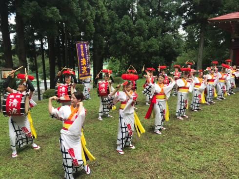 鹿妻神社例大祭〜盛岡・紫波地域の農作物への重要な水資源〜_b0199244_17132030.jpg
