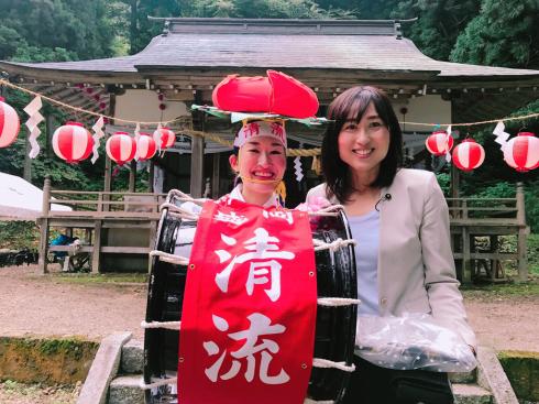 鹿妻神社例大祭〜盛岡・紫波地域の農作物への重要な水資源〜_b0199244_17132153.jpg