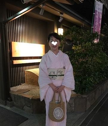 夏の終わりのビアガーデン・祇園新門荘・舞妓・小よしさん。_f0181251_18303986.jpg