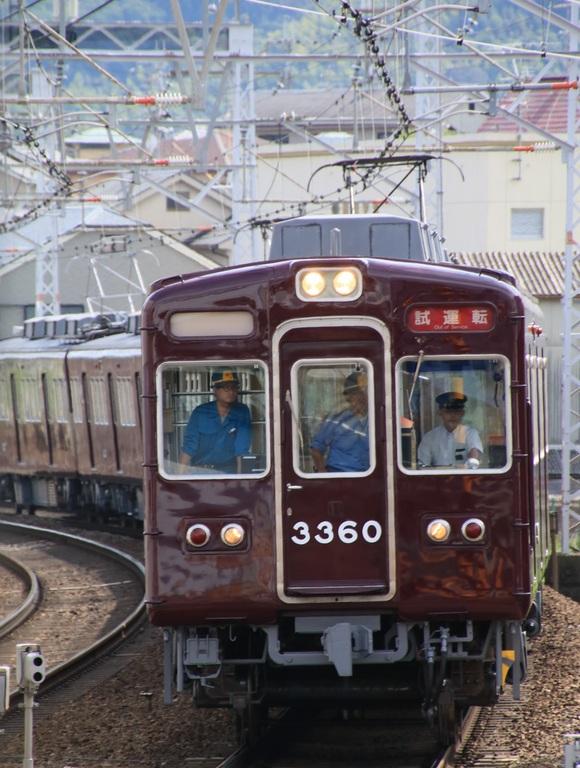 阪急3327F 試運転_d0202264_19271765.jpg