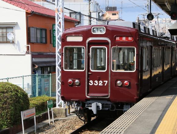 阪急3327F 試運転_d0202264_19272896.jpg