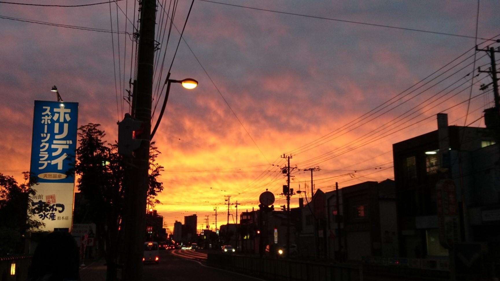 夕焼け_a0292194_22243540.jpg