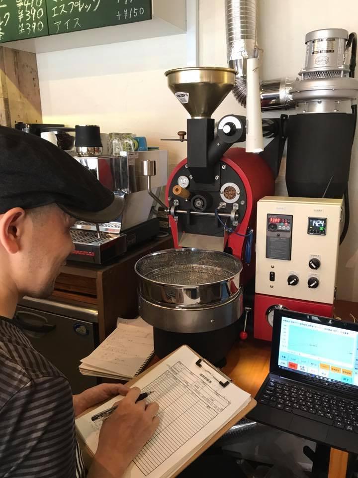 東京、東中野駅前に焙煎機を設置しました。_c0020639_12513749.jpg