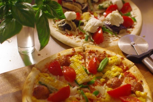夏野菜ピザ_c0110869_19174399.jpg