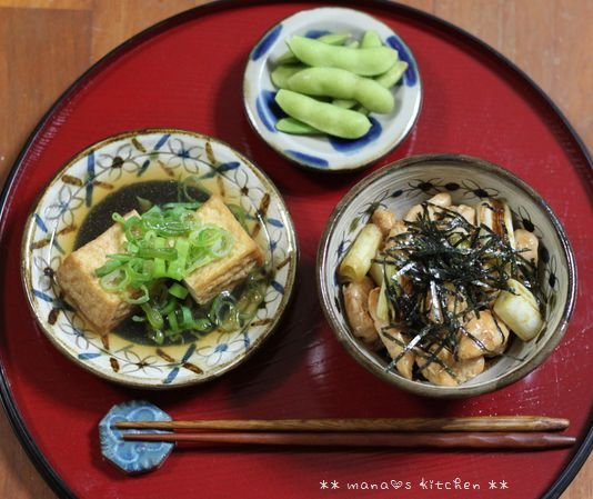 ビビンバ ✿ 焼き鳥丼(๑¯﹃¯๑)♪_c0139375_1111691.jpg