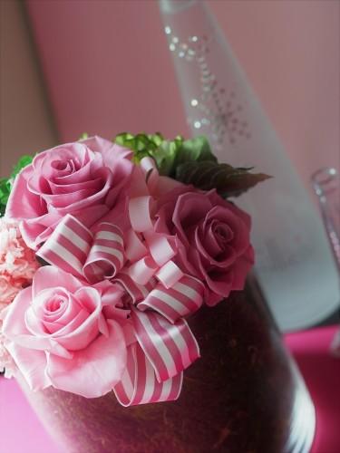 【Pink/Gift/Glass vase】_d0144095_15184445.jpg