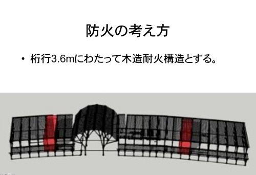 二ツ井道の駅:杉耐火柱_e0054299_14311162.png