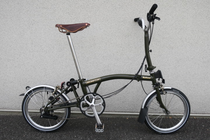 BROMPTON × Barbour コラボモデル本日販売開始!_c0132901_19502456.jpg
