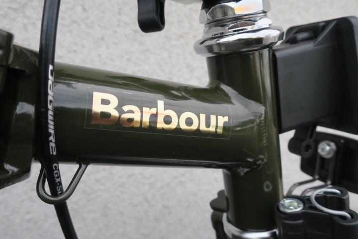 BROMPTON × Barbour コラボモデル本日販売開始!_c0132901_19555343.jpg