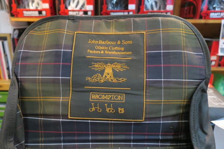 BROMPTON × Barbour コラボモデル本日販売開始!_c0132901_20090046.jpg