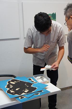 岡本雄司 絵本原画展 『れっしゃが とおります』開催中です!_f0171840_18394719.jpg