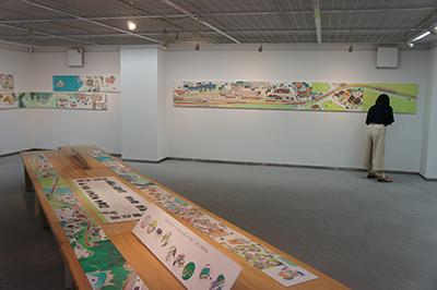 岡本雄司 絵本原画展 『れっしゃが とおります』開催中です!_f0171840_18405584.jpg