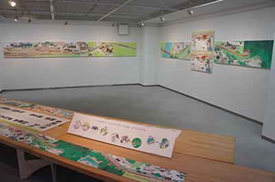 岡本雄司 絵本原画展 『れっしゃが とおります』開催中です!_f0171840_19190535.jpg