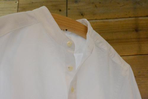 プレーンシャツ&カラーレスシャツ_c0327562_12272093.jpg