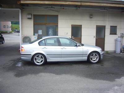 BMW 320i(E46)冷却水もれ 修理_c0267693_10453100.jpg