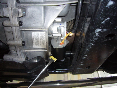 ハマーH3 4WD警告灯点灯 修理_c0267693_10455286.jpg