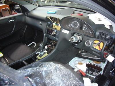メルセデス ベンツ C180(W203)ステーションワゴン ハンドル周り 修理_c0267693_10485799.jpg