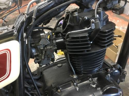 キクチさんTRエンジン修理!_a0164918_19395200.jpg
