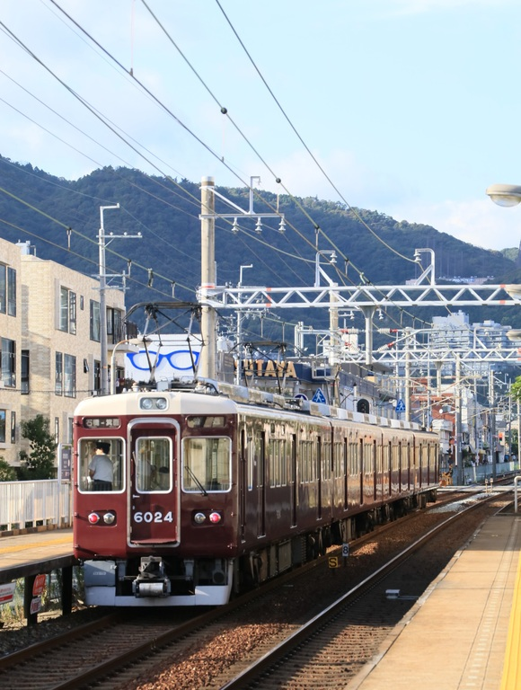 阪急6024F  4連 箕面線代走_d0202264_19534529.jpg