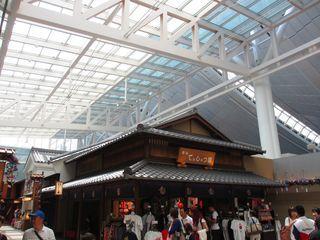 羽田空港 江戸小路の屋根_c0223192_21563541.jpg