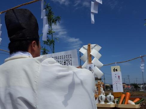 下妻市内で地鎮祭。第二弾。_a0059217_18100852.jpg