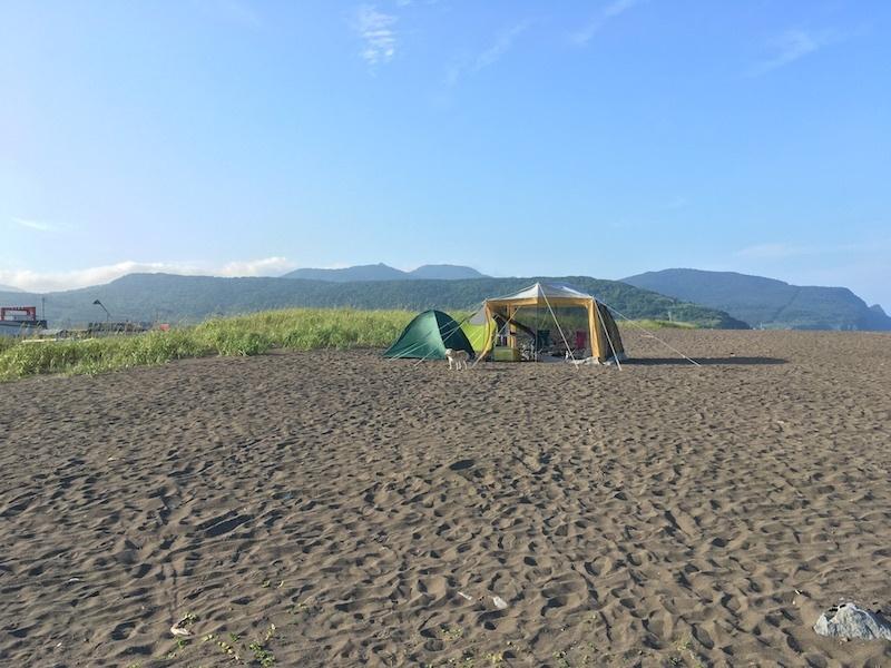 夏の思い出、8月のキャンプin浜益_e0227023_17353642.jpg