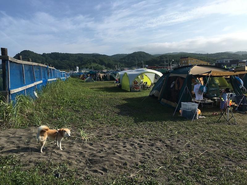 夏の思い出、8月のキャンプin浜益_e0227023_17353667.jpg