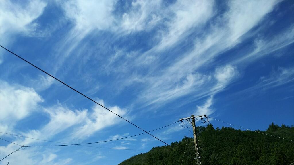 9/2(土)  秋の空♪_a0272042_13473210.jpg