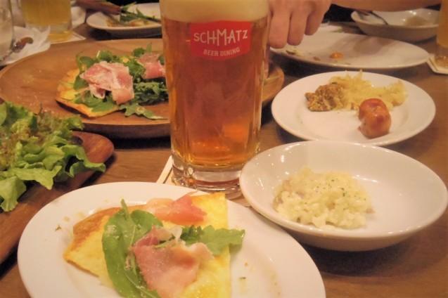神田「シュマッツ」ビール純粋令を守ったドイツクラフトビールのお味は・・・_b0354293_18305156.jpg