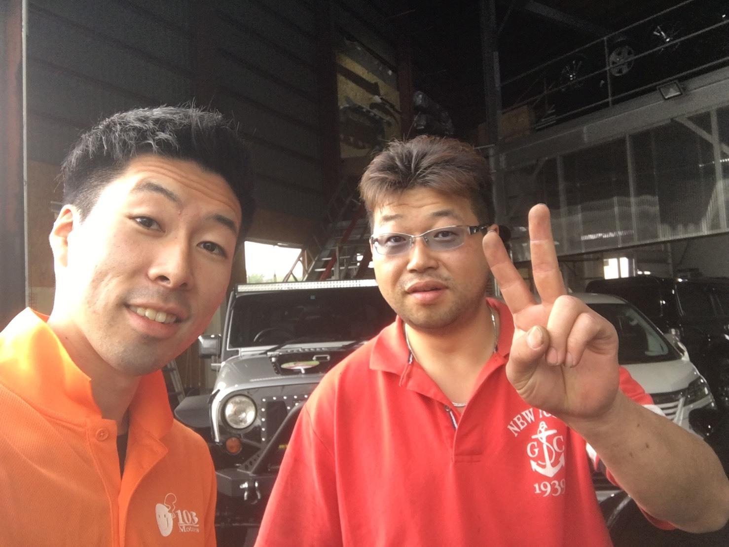 9月4日(月)TOMMY BASE ともみブログ☆ハイエース ランクル ハマー_b0127002_13000559.jpg