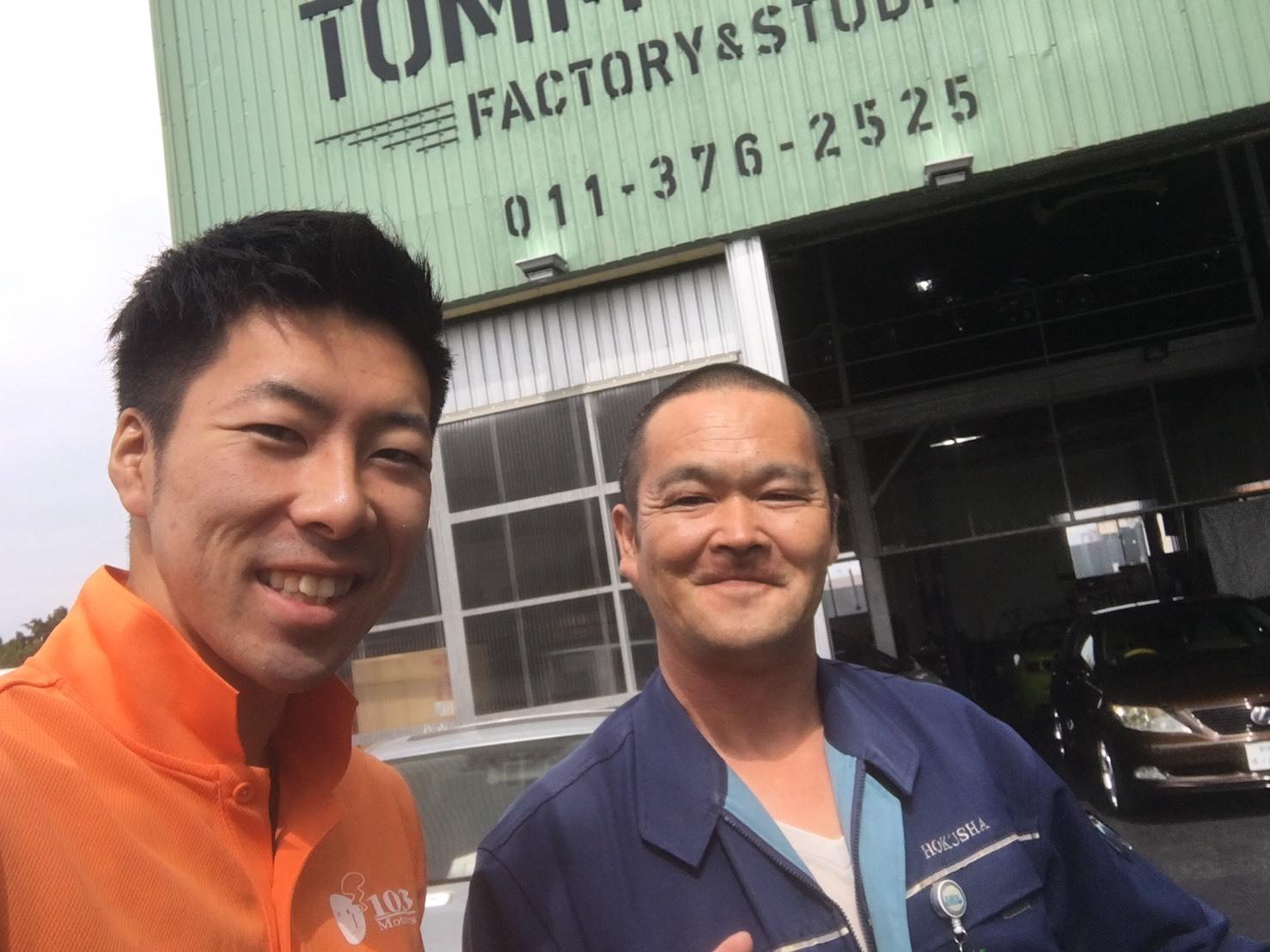 9月4日(月)TOMMY BASE ともみブログ☆ハイエース ランクル ハマー_b0127002_13012112.jpg