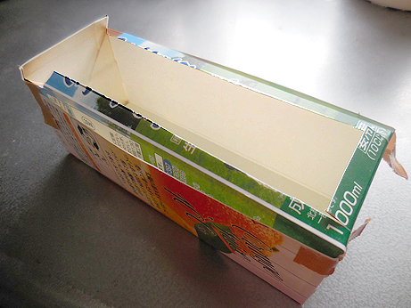 手作り石鹸の牛乳パック型_d0020309_10075301.jpg