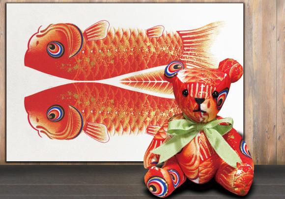 鯉のぼりを使って懐石料理その2_d0227044_15473645.jpg