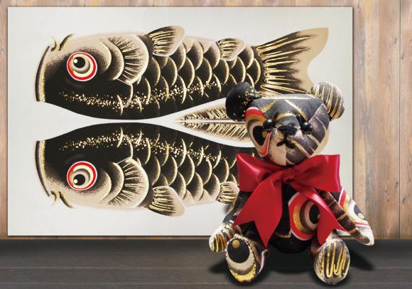 鯉のぼりを使って懐石料理その2_d0227044_15474088.jpg