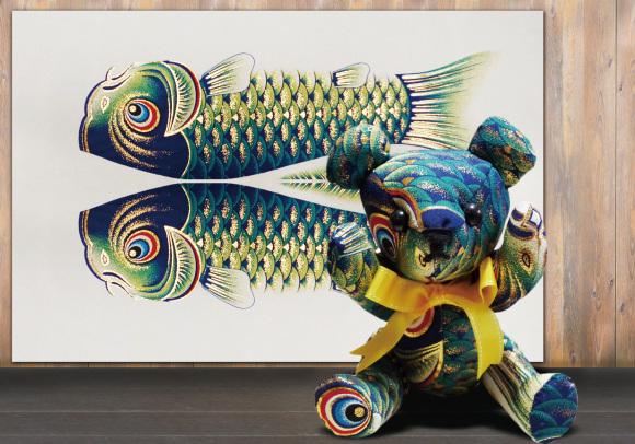 鯉のぼりを使って懐石料理その2_d0227044_15474484.jpg