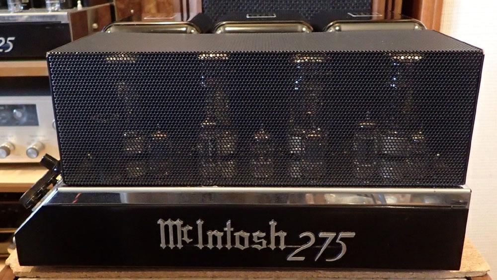 マッキントッシュ MC275 入荷しました。_b0262449_11013642.jpg