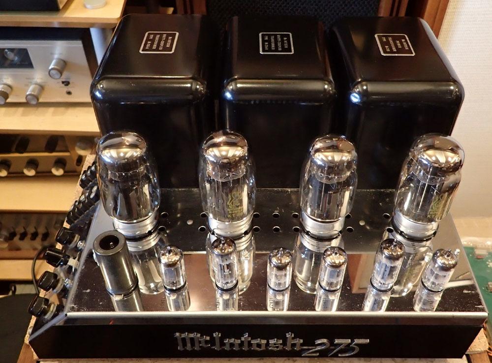 マッキントッシュ MC275 入荷しました。_b0262449_11020158.jpg