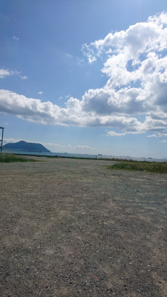 七重浜から眺める函館山_b0106766_21184354.jpg