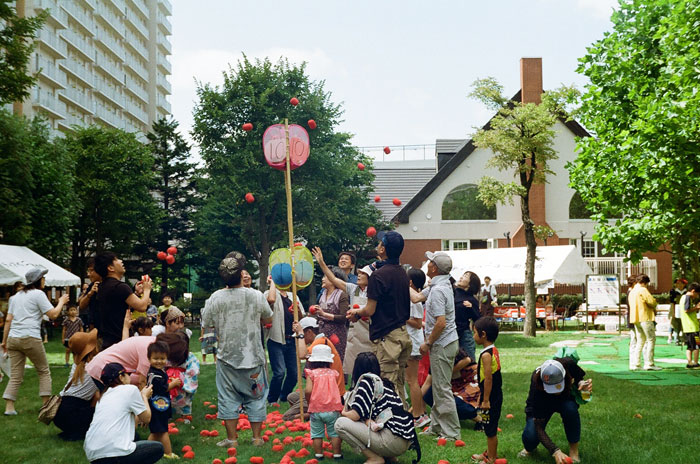 マンション夏祭りと住民参加のこと_c0182775_16155492.jpg