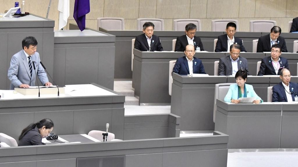 都議会臨時会 問われる小池知事の姿勢_b0190576_10145466.jpg