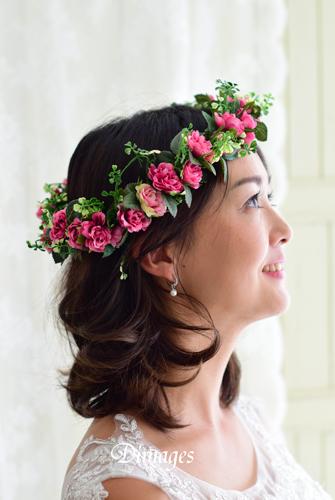 華やかな濃いピンクの花冠♪_d0167088_1820267.jpg