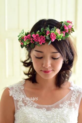華やかな濃いピンクの花冠♪_d0167088_18333267.jpg