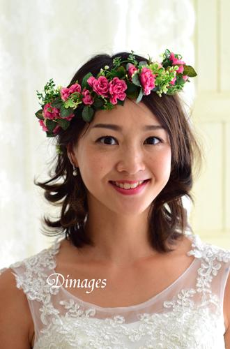 華やかな濃いピンクの花冠♪_d0167088_18362493.jpg