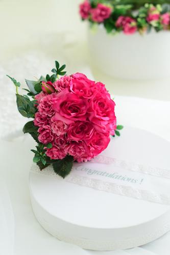 華やかな濃いピンクの花冠♪_d0167088_1849067.jpg